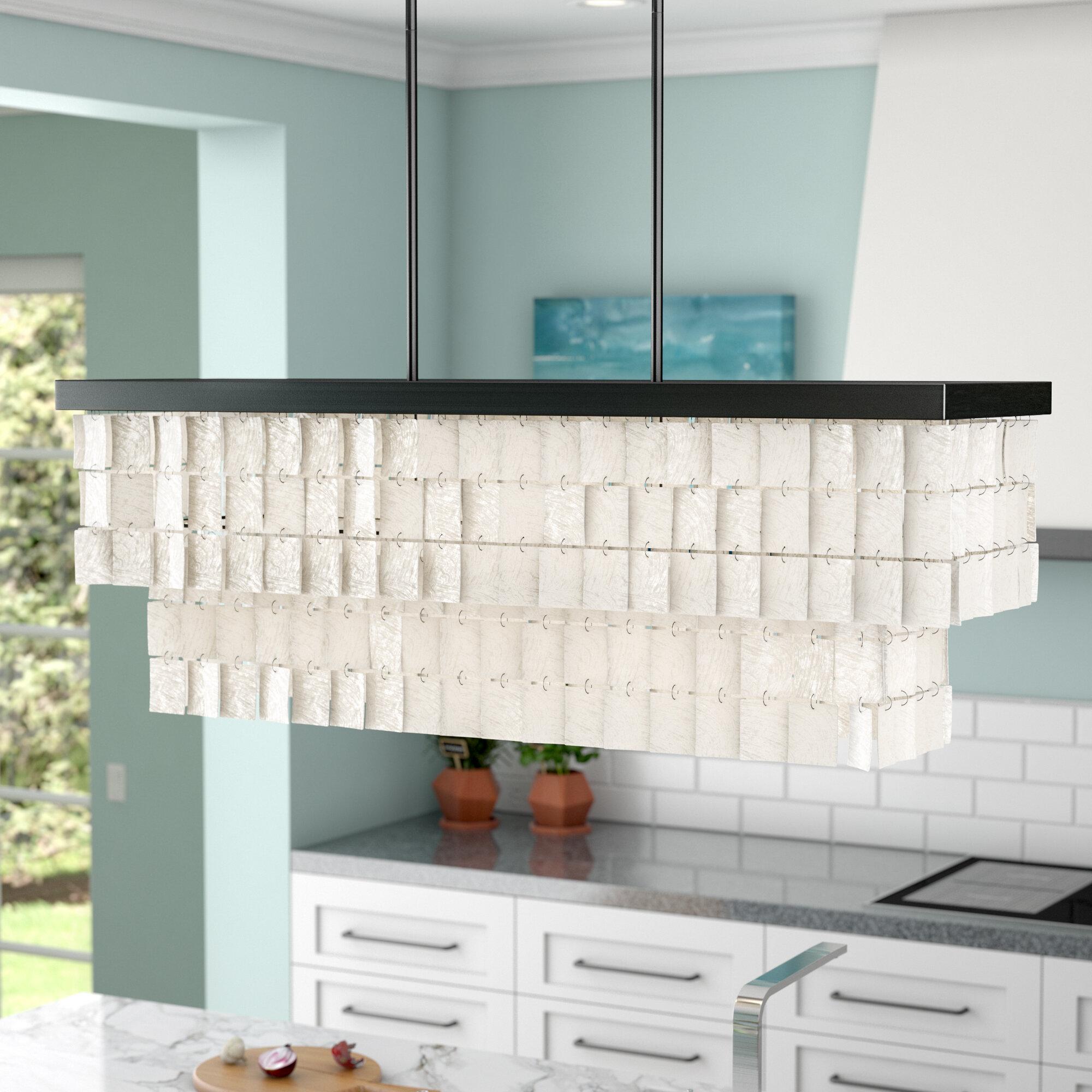 Beachcrest Home Janiya 5-Light Kitchen Island Pendant & Reviews ...