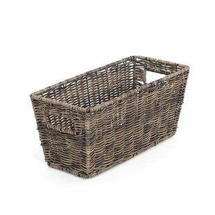 Wonderful Large Rattique Storage Basket