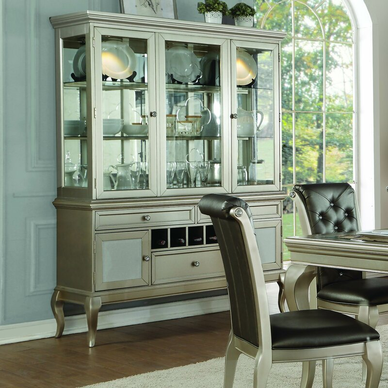 Merveilleux Marisol Buffet Table With Dining Hutch