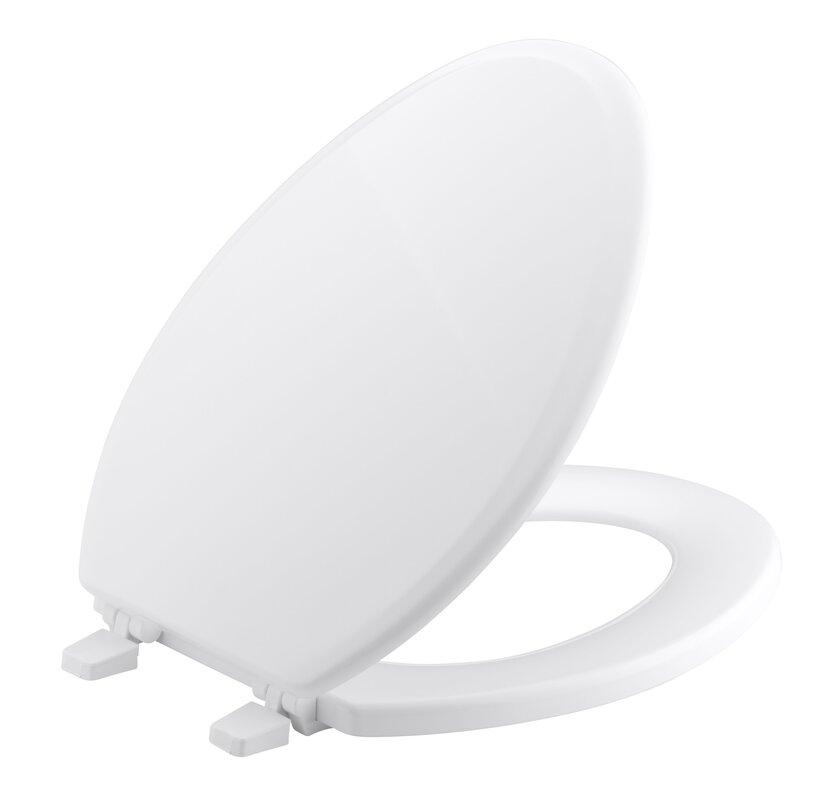 black elongated toilet seat cover. Ridgewood Elongated Toilet Seat Kohler  Reviews Wayfair