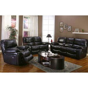 Gracehill Leather Configurable Living Room Set by Three Posts