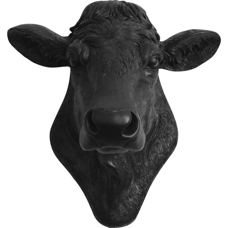 The Bessie Cow Head Wall D 233 Cor Amp Reviews Allmodern
