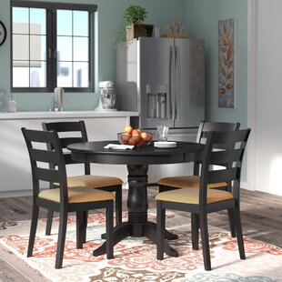 Oneill 5 Piece Ladder Back Dining Set