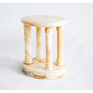 Honey Onyx Pedestal Plant Stand