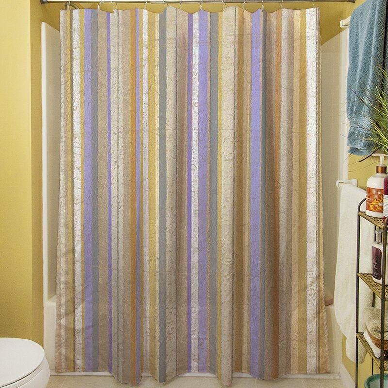 Plum Scene II Shower Curtain