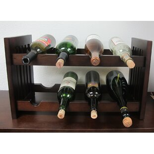 Old Country 8 Bottle Tabletop Wine Rack