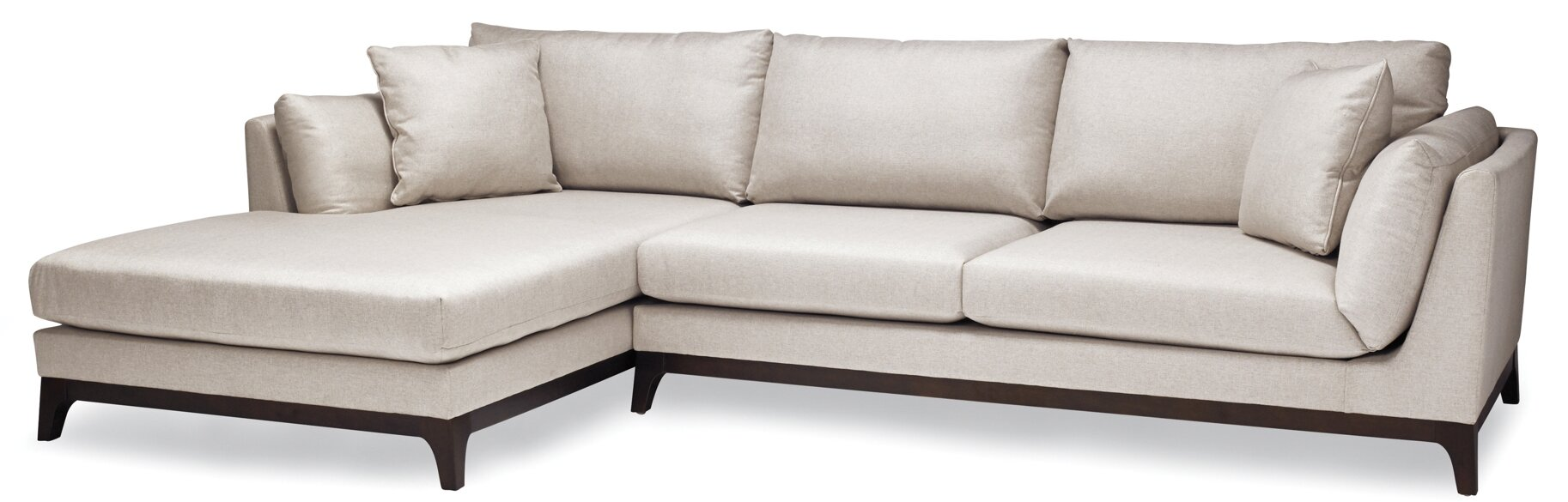 Sofas to Go Patty Sectional & Reviews