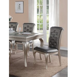 Adele Side Chair (Set of 2) by Infini Fur..