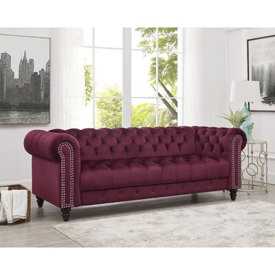 Chesterfield Red Sofas You Ll Love In 2019 Wayfair