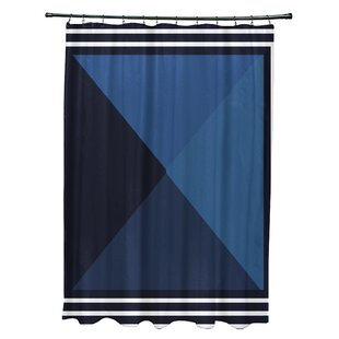 Angled Shower Curtain Rod