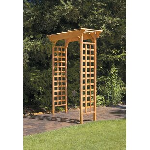 Fairchild Garden Wood Arbor