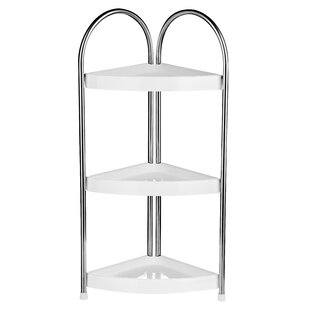 3 tier corner bathroom shelf unit - Bathroom Shelf Unit