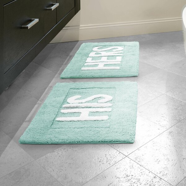 Jean Pierre His And Hers Cotton 2 Piece Bath Rug Set U0026 Reviews | Wayfair
