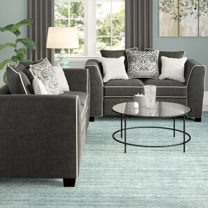 Clouser 2 Piece Living Room Set by Andover M..