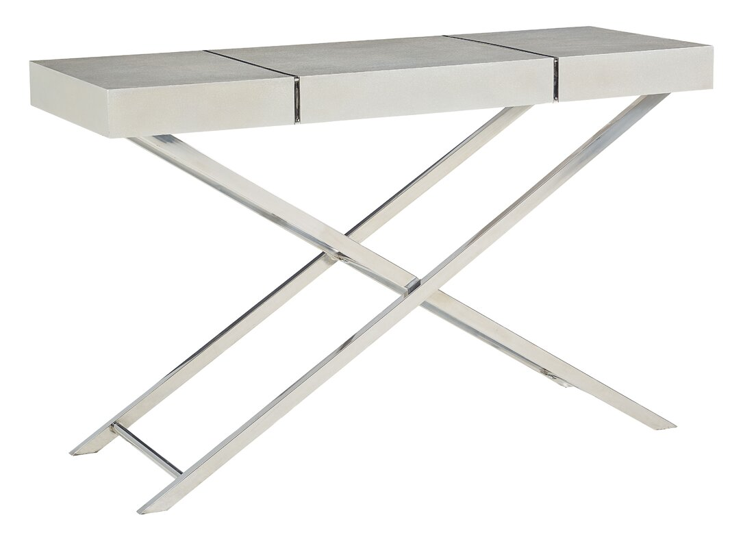 Modern console sofa tables allmodern ava console table geotapseo Image collections