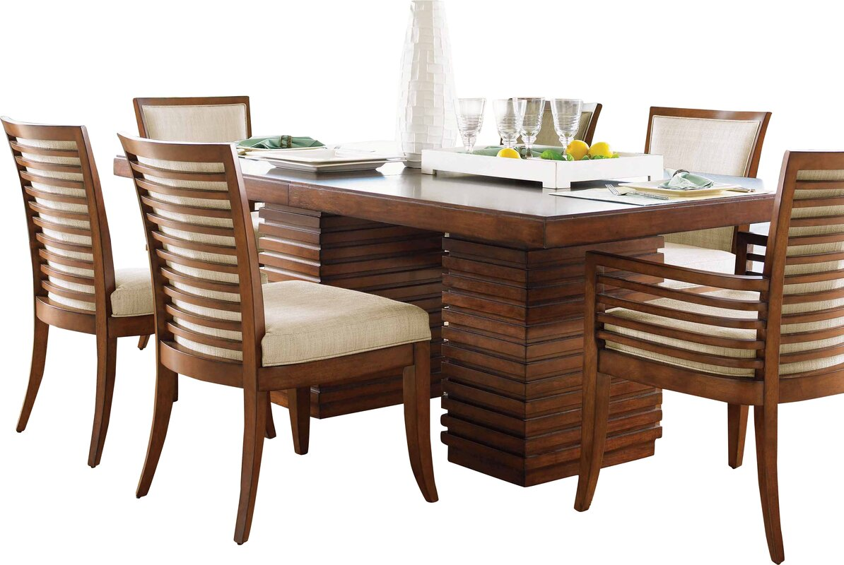 Tommy Bahama Home Ocean Club Peninsula Dining Table & Reviews ...