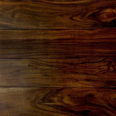 "5"" Engineered Acacia Hardwood Flooring Forest Valley Flooring Color: Birmingham"