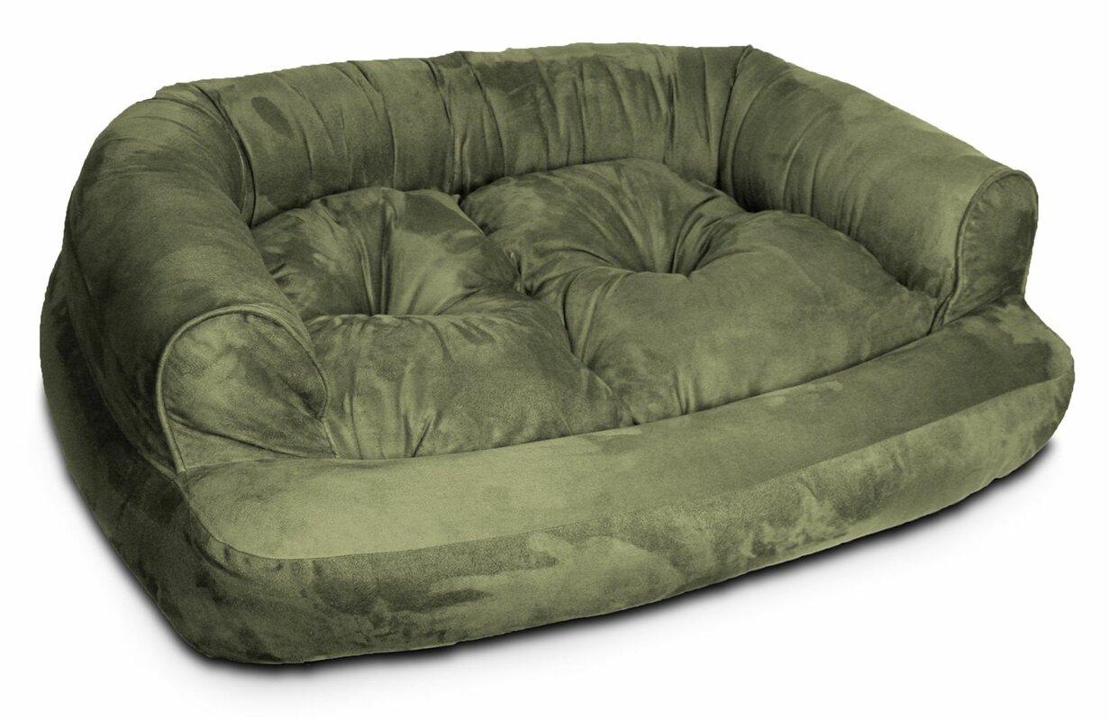 Snoozer Overstuffed Luxury Dog Sofa & Reviews | Wayfair