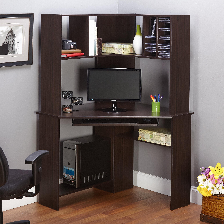 Laude Run Friedman Corner Computer Desk With Hutch Reviews Wayfair