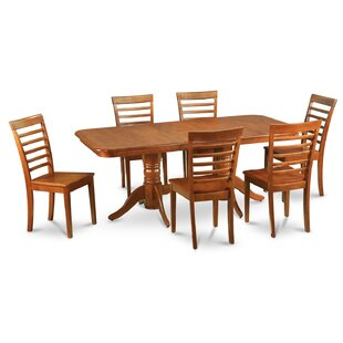 Pillsbury Contemporary 5 Piece Dining Set
