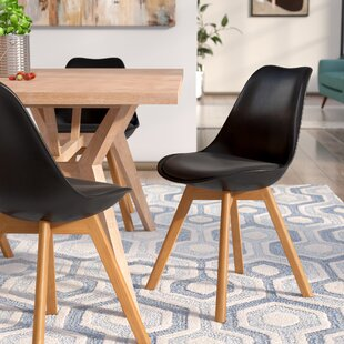 Ashley Solid Wood Upholstered Dining Chair