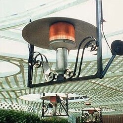 50,000 BTU Natural Gas Hanging Patio Heater