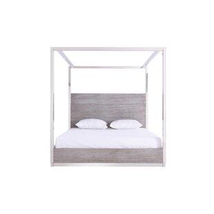 Prokop Canopy Eastern King Bed  sc 1 st  Wayfair & Lighted Bed Canopy | Wayfair