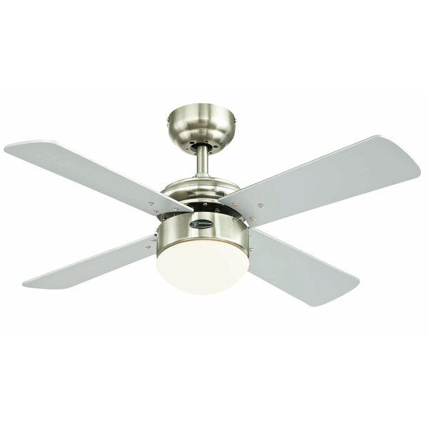 Winston porter 36 frampton cotterell reversible 4 blade led winston porter 36 frampton cotterell reversible 4 blade led integrated ceiling fan with remote control reviews wayfair aloadofball Image collections
