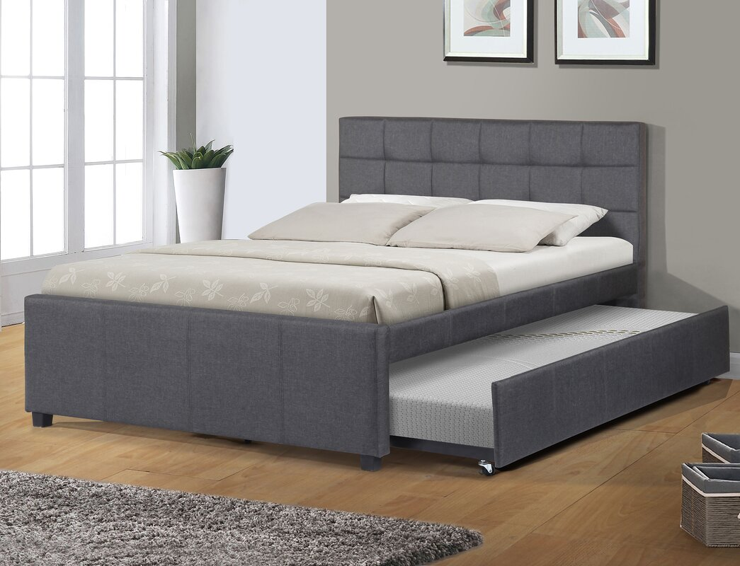 Best quality furniture full double storage platform bed - Best platform beds with storage ...