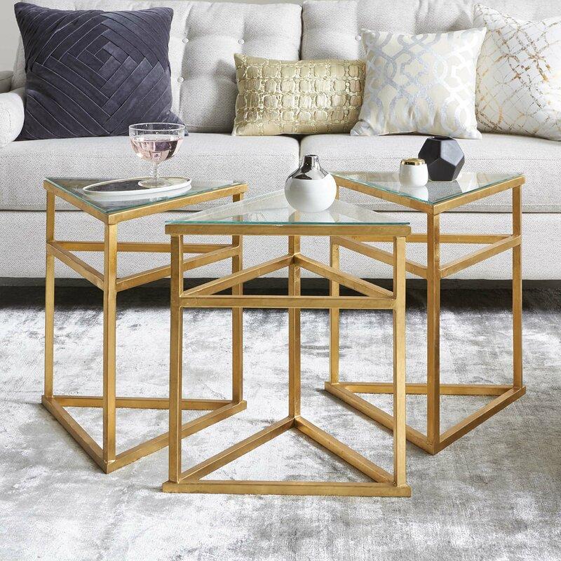 Reynaldo 3 Piece Coffee Table Set Allmodern