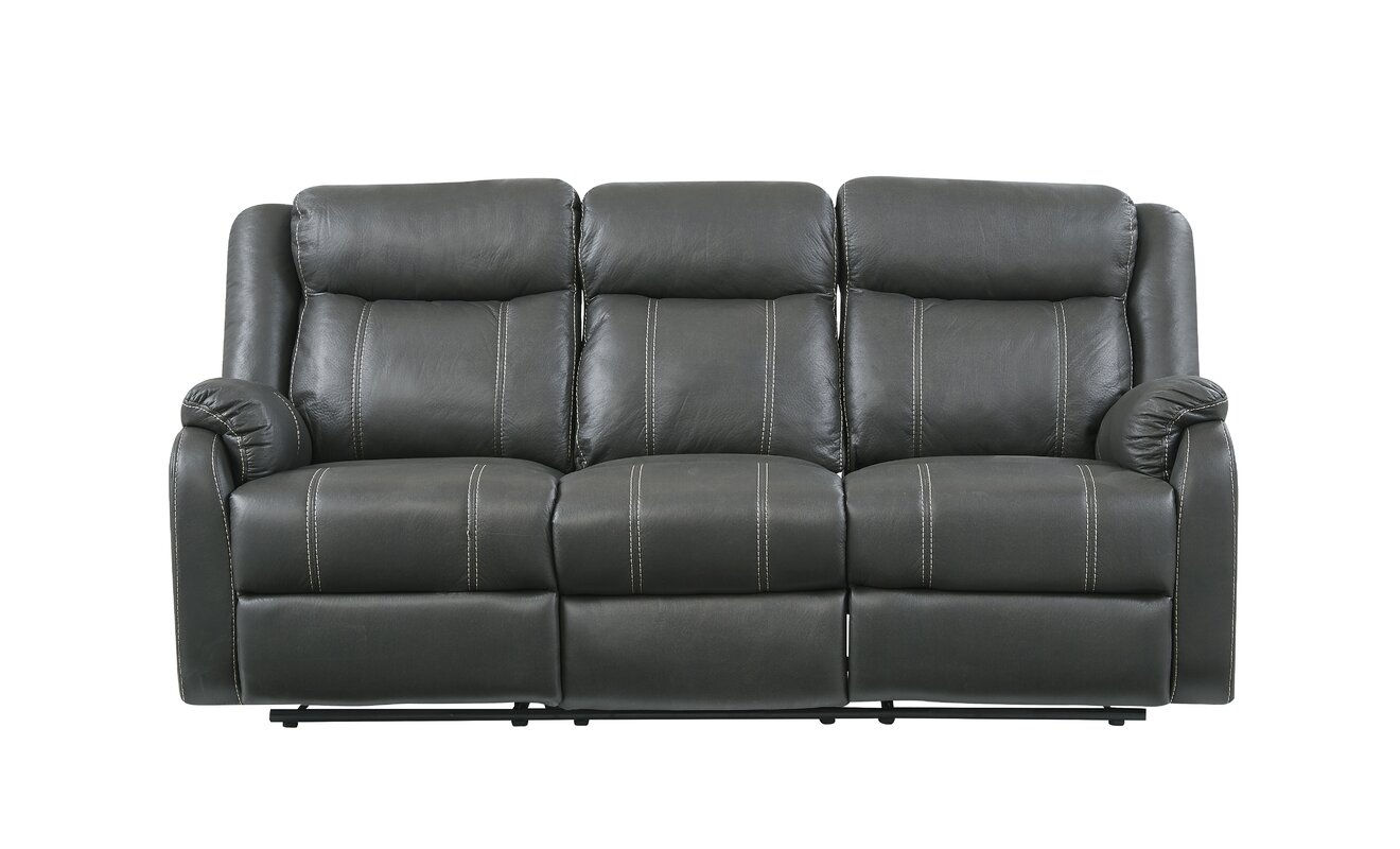 Sofa With Drop Down Table The Mitchiner Fog Reclining