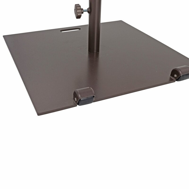 Abba Patio Square Patio Steel Free Standing Umbrella Base With