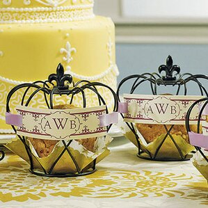 wired crown place card holder set of 4