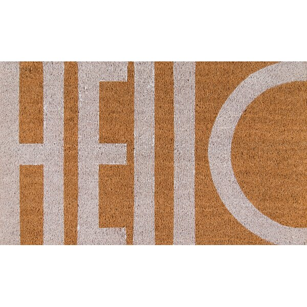 Novogratz By Momeni Aloha Hello Doormat U0026 Reviews | Wayfair