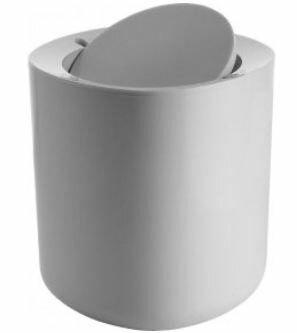 Exceptional Birillo Bathroom 1 Gallon Swing Top Trash Can