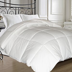 natural feather all season down comforter - Down Blankets