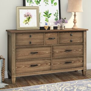 Armoise 7 Drawer Double Dresser by Lark Manor