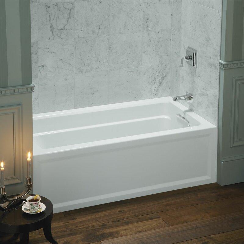Kohler Archer 60 Quot X 32 Quot Alcove Soaking Bathtub Amp Reviews