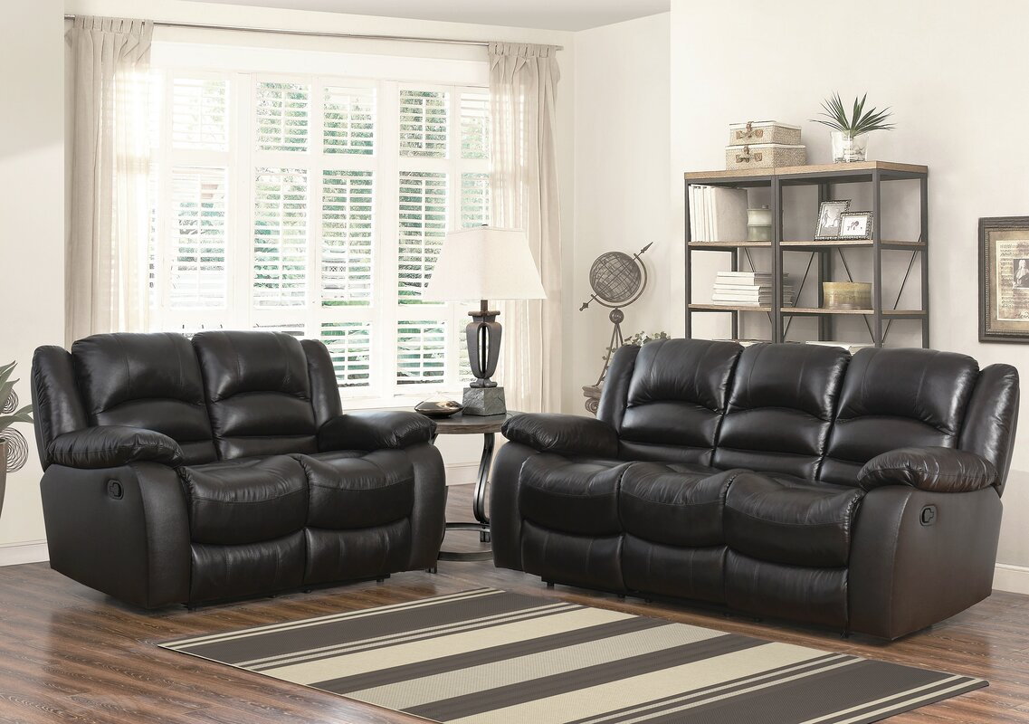 Jorgensen Leather 2 Piece Living Room Set Part 34