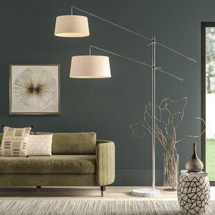 Adjustable Arm Floor Lamps   Wayfair