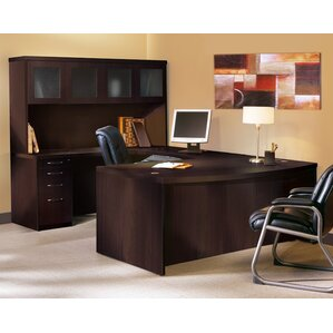 Nice Aberdeen Series U Shape Executive Desk With Hutch