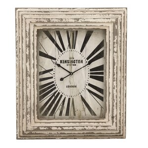 kensington station weathered classic wall clock