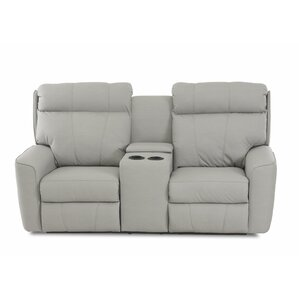 Chau Power Reclining Loveseat with Console by Red Barrel Studio
