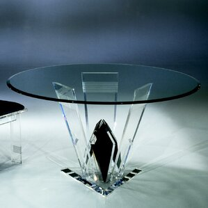 Diamond Cut Acrylic Dinette Table by Shahrooz