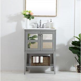 Mirrored Bathroom Vanities Youll Love Wayfair