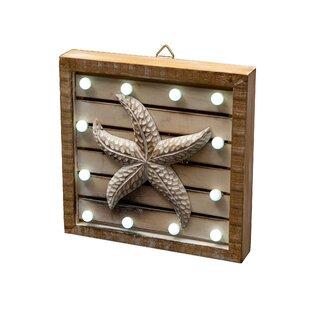LED Starfish Wall Décor