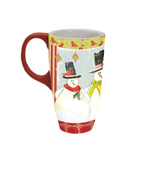 f03c45a7f7c Lang 18 oz. Home For The Holidays Latte Mug | Wayfair