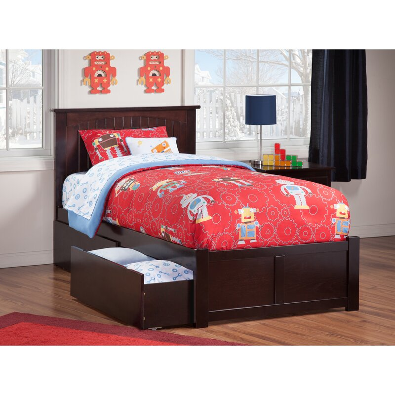 Graham Platform Bed With Drawers