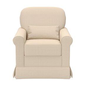 Avalon Upholstered Swivel Glider