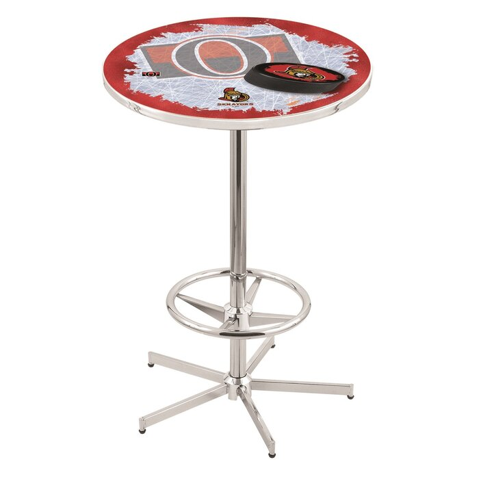 Trademark Gameroom NHL Chrome Pub Table-New Jersey Devils Table Games
